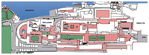 The City Palace Museum Map