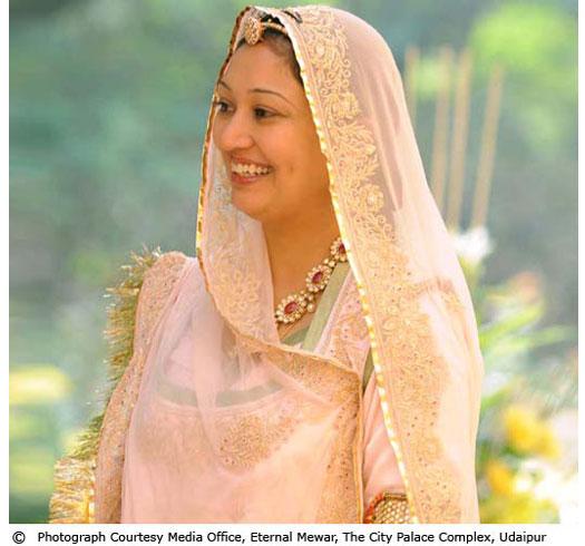 MS. BHARGAVI KUMARI  MEWAR OF UDAIPUR