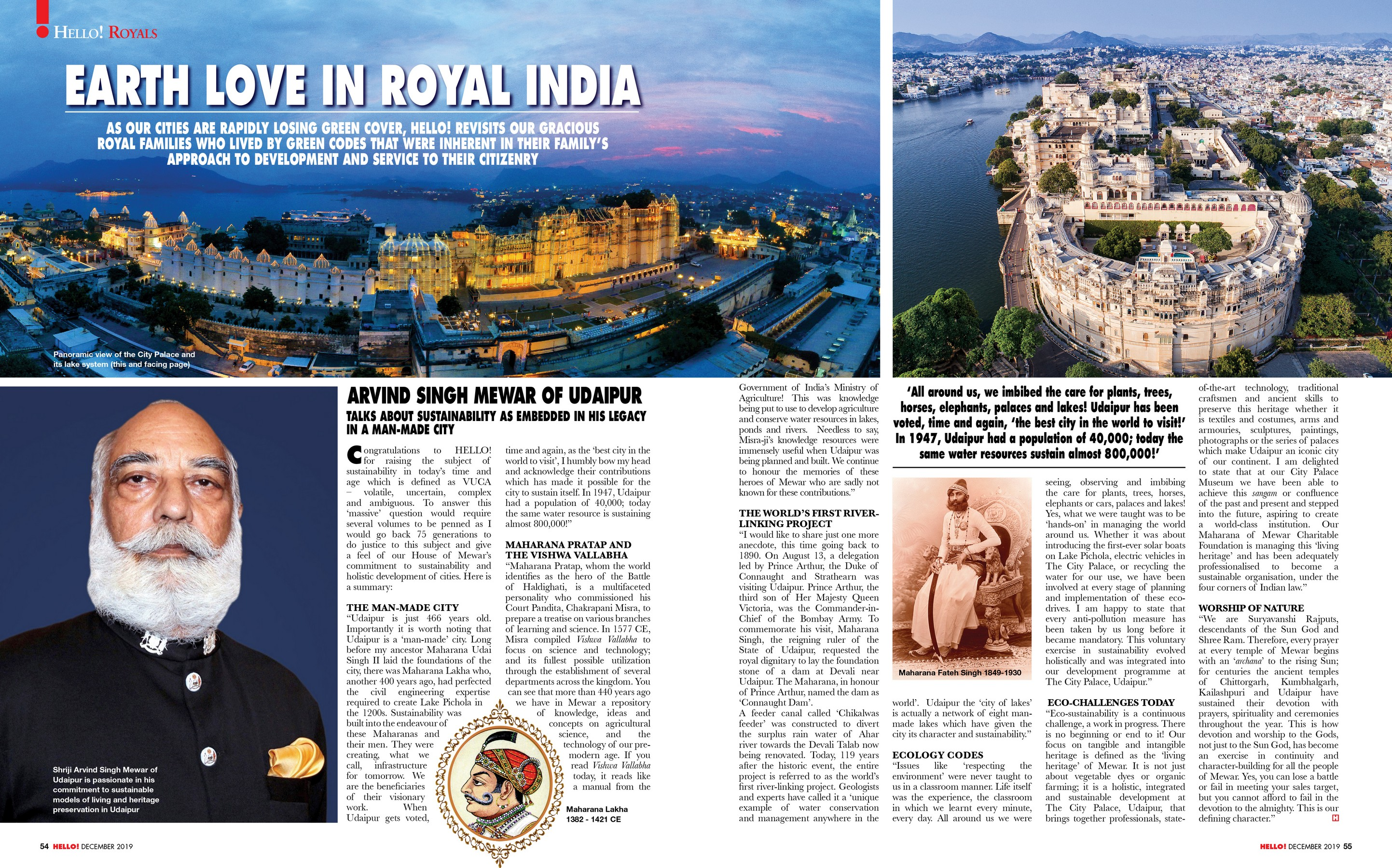 EARTH LOVE IN ROYAL INDIA